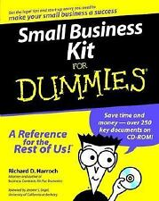 Small Business Kit For Dummies (Lifestyles Paperback) CD Harroch, Richard EUC