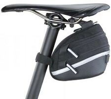 Topeak Expandable Wedge Saddle Bag II Medium MTB Bicycle Bike Pouch + Rain Cover