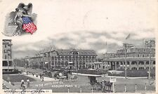 ASBURY PARK NEW JERSEY IN THE HOTEL CENTRE~LIVINGSTON PUBL #638 POSTCARD 1904 PM