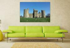 Stunning Poster Wall Art Decor Bodium Castle Sussex Medieval Fort 36x24 Inches