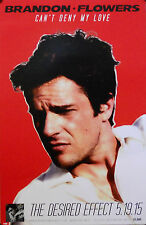BRANDON FLOWERS, CAN'T DENY MY LOVE POSTER (N6)