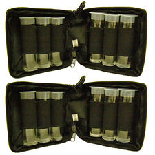 2 NEW WINCHESTER CHOKE TUBE CASES,SHOTGUN CHOKE ACCESSORY CASE BAG WITH VIALS