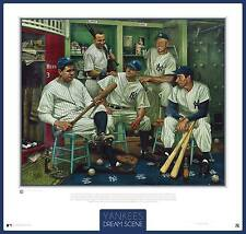 NEW YORK YANKEE'S – DREAM SCENE – JAMIE COOPER ARTWORK – UNFRAMED