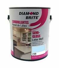 Diamond Brite Paint 21300 1-Gallon Semi Gloss Latex Paint Sky Blue 1 Gallon