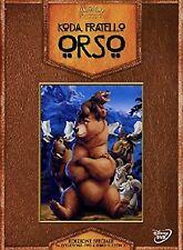 DISNEY DVD Koda fratello orso GIFT CON LIBRO - raro fuori catalogo