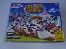 WIZARD ACADEMY 45 PIECE 3D JIGSAW PUZZLE 3+YEARS BRAND NEW.