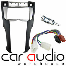Toyota Yaris 2007 Car Stereo Double Din Silver Fascia Panel Fitting Kit CT24TY22