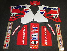 Honda CR125 1995-1997 CR250 1995-1996 Yves Demaria Pepsi team graphic kit EJ2038