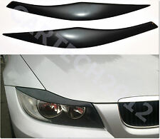 BMW E90, E91 Headlights  Eyebrows, Eyelids ABS PLASTIC, tuning