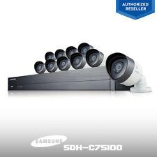 (Refurbished) SDH-C75100 Samsung 16-CH Security System 10 1080P HD Cameras 2TB