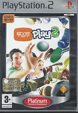 Ps2 PlayStation 2 **EYETOY PLAY 2** come nuovo Italiano