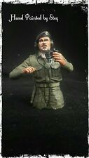 1/16 built & painted résine britannique/commonwealth WW2 tank commander