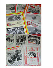 5 NEW Springfield Indian Motocycle Club MAGAZINES - 1930's Indian News Reprints
