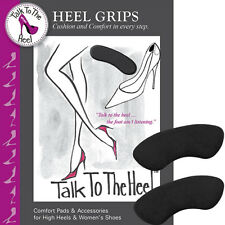 Braza Heel Grips Talk To The Heel Black - S94001