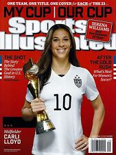 New CARLI LLOYD USNWT SPORTS ILLUSTRATED USA 2015 WORLD CUP CHAMPIONS No Label