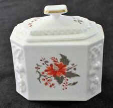 "Vintag 1964 ROYAL WORCESTER Fine Porcelain LYNBROOK 5 1/4""h Medium Household Box"