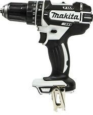 Makita  White DHP482Z 18v LXT Li-Ion CombiDrill 2-Speed- Naked- Replaces DHP456Z