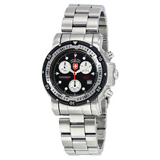 Swiss Military Seawolf I Chronograph Black Dial Mens Watch 1726