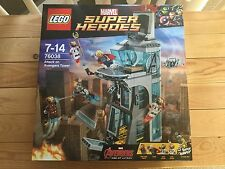 LEGO MARVEL SUPERHEROES AGE OF ULTRON ATTACK ON AVENGERS TOWER 76038 BNIB