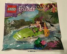 LEGO 30115 Jungle Boat FRIENDS sealed polybag w/ Olivia - FREE Canada Shipping