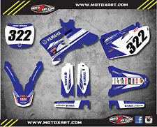 Full Custom Graphic Kit PREMIERE STYLE Yamaha YZ 250 F 2003 2004 2005 stickers
