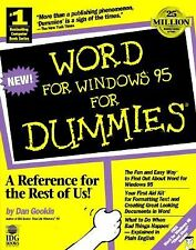 Word For Windows95 For Dummies (For Dummies (Computers)) by Gookin, Dan