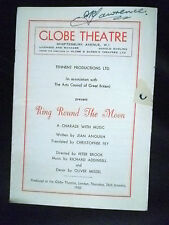 1950 Globe Theatre Programme- RING ROUND THE MOON