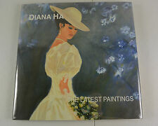 DIANA HA The Latest Paintings Signed by Korean Artist Art Catalog Book #1358