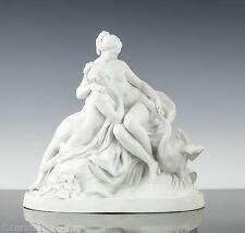 Etienne Maurice Falconet (1716 – 1791) Leda & der Schwan Bisquit Porzellan 1790