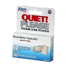 Flents Quiet! Please Foam Ear Plugs 6 Pairs Each