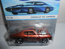 Hot Wheels Cool Classics Chevelle SS Express Spectrafrost Brown