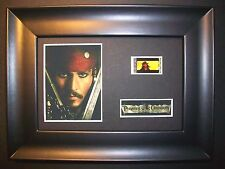 PIRATES OF THE CARIBBEAN Framed Movie Film Cell Memorabilia - Compliments dvd