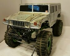HUMMER TRUCK 1:10 scale CRAWLER hard BODY ONLY axial rc4wd for short chassis