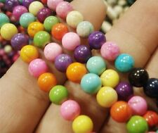 """4MM Turkey Multi Color Turquoise loose Beads 15 """""""