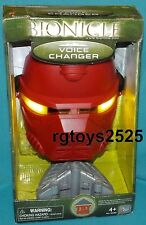 BIONICLE Voice Changer Mask with Lights up eyes and Sound effects New made 2005