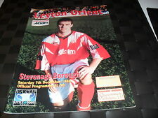 Leyton Orient V Stevenage BOROUGH 7th DICEMBRE 1996 FA CUP