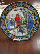 "Wedgwood Bone China 9"" Plate - Arthur Draws the Sword -  Holiday Bargains #240"