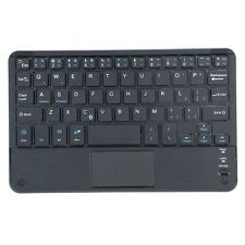 CF Windows PC 59 Keys Ultra Slim Mini Bluetooth Keyboard with Touch Pad Panel R