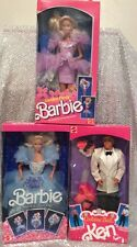 3 PC BARBIE DOLLS FRILLS FANTASY 1374 GARDEN PARTY 1953 KEN COSTUME BALL 7154
