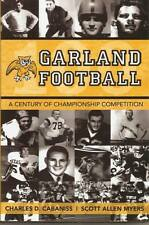 GARLAND FOOTBALL, Hard-cover non fiction sports book