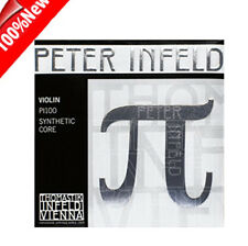 Peter Infeld Violin String Set 4/4 Tin  E-Silver D