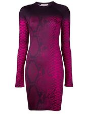 Christopher Kane Snakeskin Bottom Bodycon Dresses