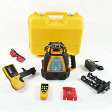 HOT NEW SELF-LEVELING ROTARY/ ROTATING LASER LEVEL 500M RANGE HIGH ACCURACY