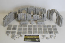 28mm Unpainted Resin Ruined Chapel  set / Frostgrave / Historical / Fantasy