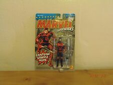 """Marvel Super Heroes  RARE! """"Daredevil""""1994 5""""in.Toy Look's like Netflix TV Show!"""