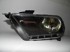 2010 2011 2012 Mustang Base GT Shelby LH Driver Headlight OEM Smoke Lens  M0190