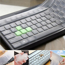Universal Silicone Desktop Computer Keyboard Cover Clear Skin Protector Film New