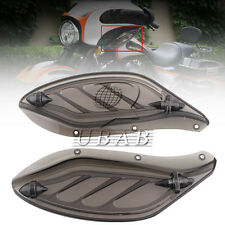 Dragon Wing Variable Air Deflectors for Harley Electra Glide FLHT 1996-13 Smoke
