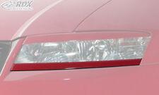 RDX Scheinwerferblenden Fiat Stilo UNTEN Böser Blick ABS Blenden Spoiler