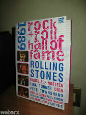 ROCK n ROLL HALL OF FAME 1989 DVD OTTIMO SPRINGSTEEN STONES TOWNSHEND